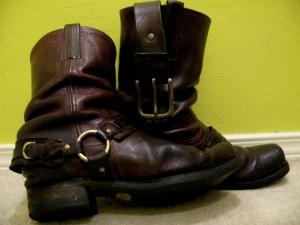 Frye Boots, Brock Sampson Style
