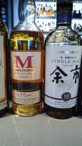 Milford 10 and Nikka Yoichi 10 Single Malt