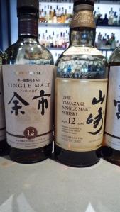 Nikka Miyagikyo 10 and Subtory Yamazki 10 Single Malt
