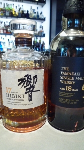Nikka Hibiki 17 Blend and Yamazaki 18 Single Malt