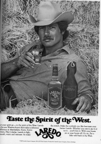Maybe Laredo is actually a mustache wax and not a liquor.  I could have this whole thing backwards.