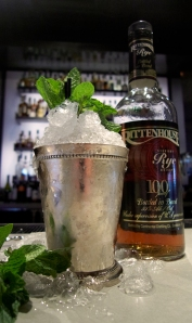 The Mint Julep: Best when consumed outside, quickly and made by someone else
