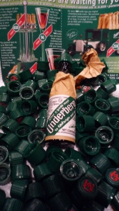 "A lot of people say, ""of I love Pappy van Winkle, or Grey goose is the only vodka,"" well, I love Underberg this much."