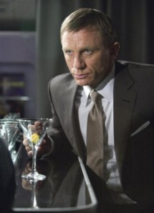 James Bond was a Gin Man