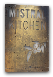 mistral kitchen sign