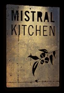 mistral kitchen sign