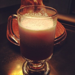 The Porto Flip with real herbal liqueurs