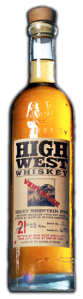 High West 21yr, gentle spice aromas, delicate on the palate, toasted vanilla