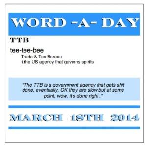 WORD A DAY TTB