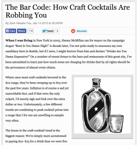 Seattle News and Events | The Bar Code: How Craft Cocktails Are Robbing 2015-04-28 07-28-21