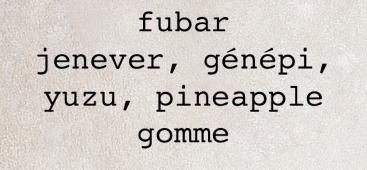 FUBAR menu 1