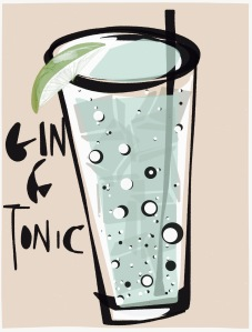 May your Gin & Tonic be bubbly, full of ice and inspire you more than medicate you